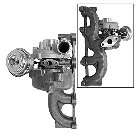 1x Colector de escape con Turbocompresor completo incluido set de montaje y tubo de aceite AUDI A3 8L 1.9 TDI AÑO 97-01; SEAT LEON TOLEDO 2 1M 1.9 TDI AÑO ...