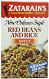 ZATARAIN'S Spicy Red Beans and Rice, 8-Ounce (Pack of 6)