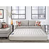 Lux Aire Adjustable 10-inch King-size Air Mattress by Luxaire