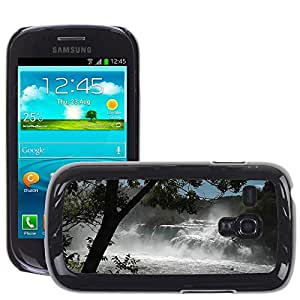 Hot Style Cell Phone PC Hard Case Cover // M00307711 Waterfall Cascade Nature // Samsung Galaxy S3 MINI i8190