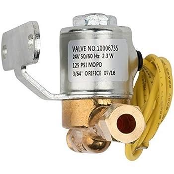 aprilaire 4040 solenoid valve, 24 volt for humidifier models 400, 500, 600,  700
