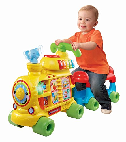 VTech Sit-to-Stand Alphabet Train Music oOer 100 Sing-Along Songs, Music, Sound Effects Toy for Kids