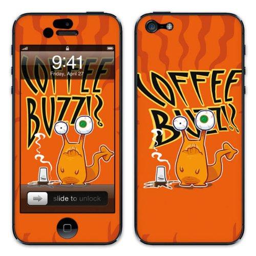 Diabloskinz B0081-0046-0052 Vinyl Skin für Apple iPhone 5/5S Coffee