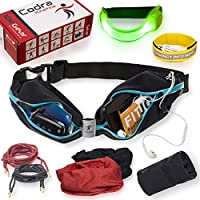 Codra Kinetics 8-in-1 Running Belt & Accessories Pack,...