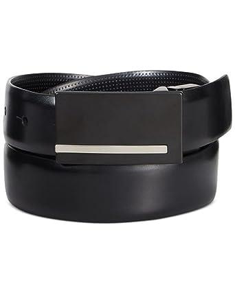 Amazon.com: Alfani Cinturón de piel en condiciones de ...