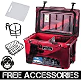 45QT CAMO RED COLD BASTARD Rugged Series ICE CHEST COOLER Free Accessories YETI Quality Free S&H
