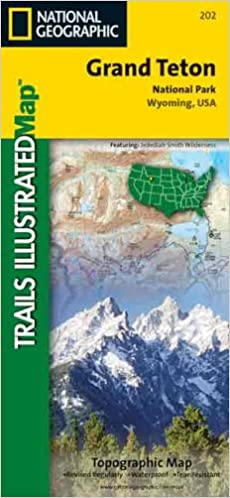 National Geographic Trails Illustrated Grand Teton National Park ...