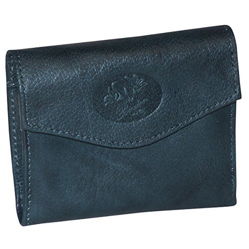 Buxton Heiress Pik-Me-Up Mini-Trifold, deep teal