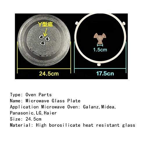 24,5 cm espesada resistente al calor apta para microondas ...
