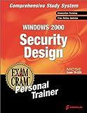 MCSE Windows 2000 Security Design, CIP Author Team Staff, 1576107728
