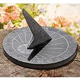 Large Round Slate Sundial