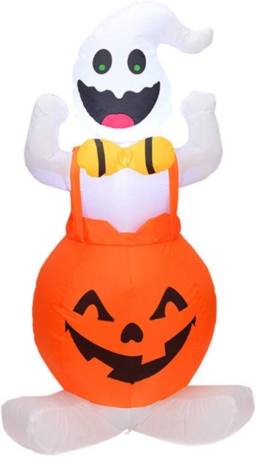Fishyu Halloween Hinchable Golpe Up Fantasma Calabaza con LED Luz ...