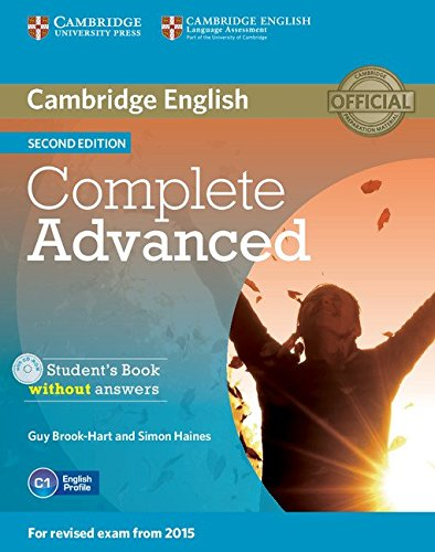 Complete Advanced Student's Book without Answers with CD-ROM 2nd Edition (Cambridge English)