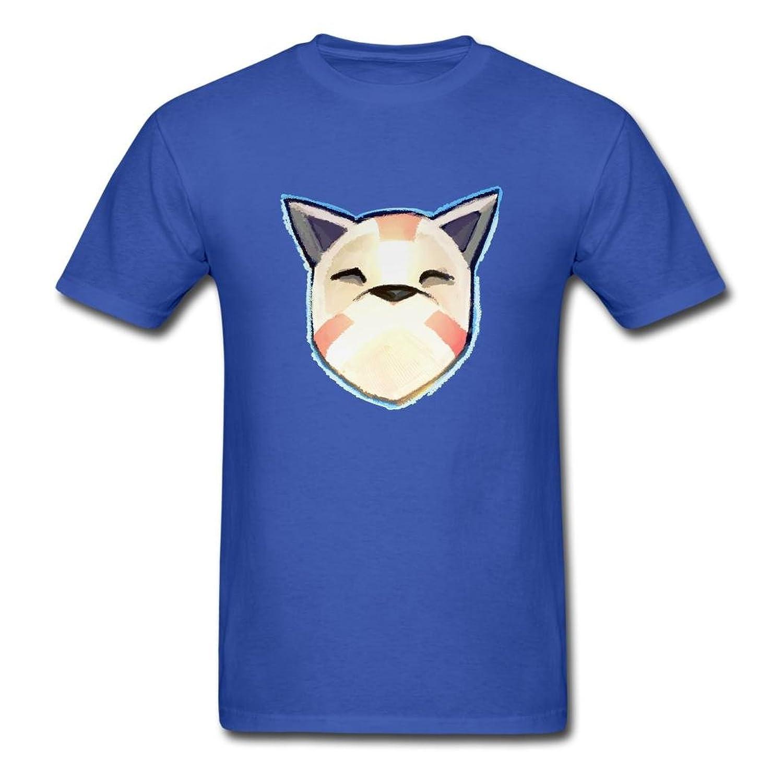 AneSwing FRU Cute Head Logo Comforsoft Men's T Shirt