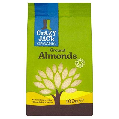 Crazy Jack Organic Ground Almonds - 100g (0.22lbs)