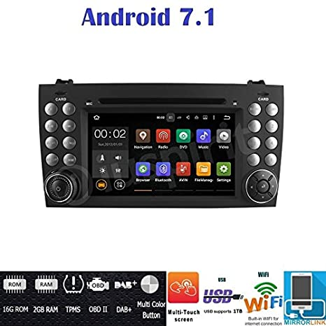 16g Für Android 7.1 Mp4 Player 7 doppel 2 Din Autoradio Stereo Multimedia Bluetooth Player Gps Antenne 1