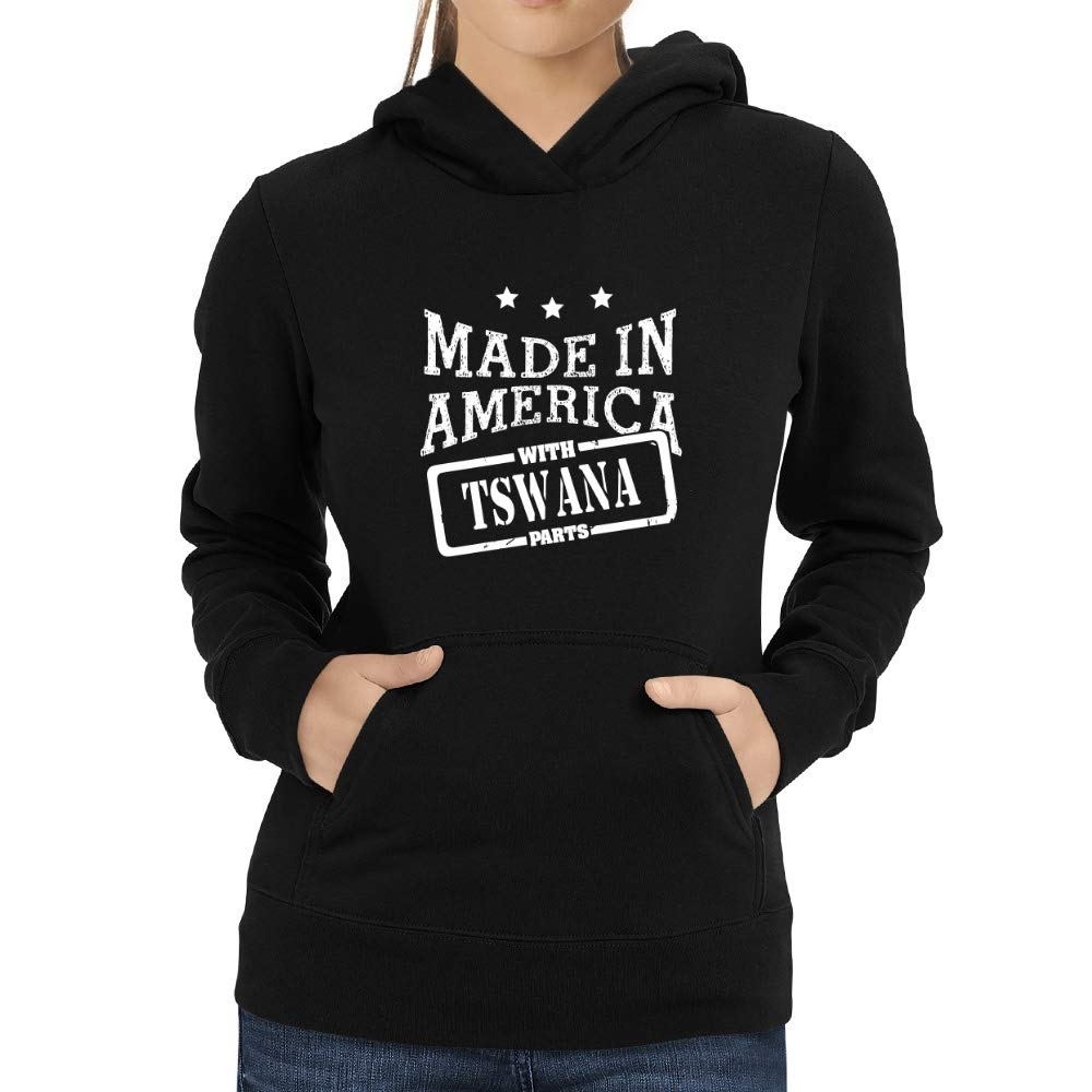 Eddany Made in America with Tswana Parts Women Hoodie