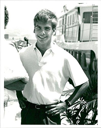 Vintage photo of Lachlan Murdoch son of Rupert Murdoch.