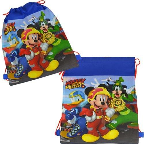 Disney Mickey Mouse Beach Towel Sling Bag Beach Ball Goggles Swim Ring Swimming Pool Bundle by Disney (Image #1)