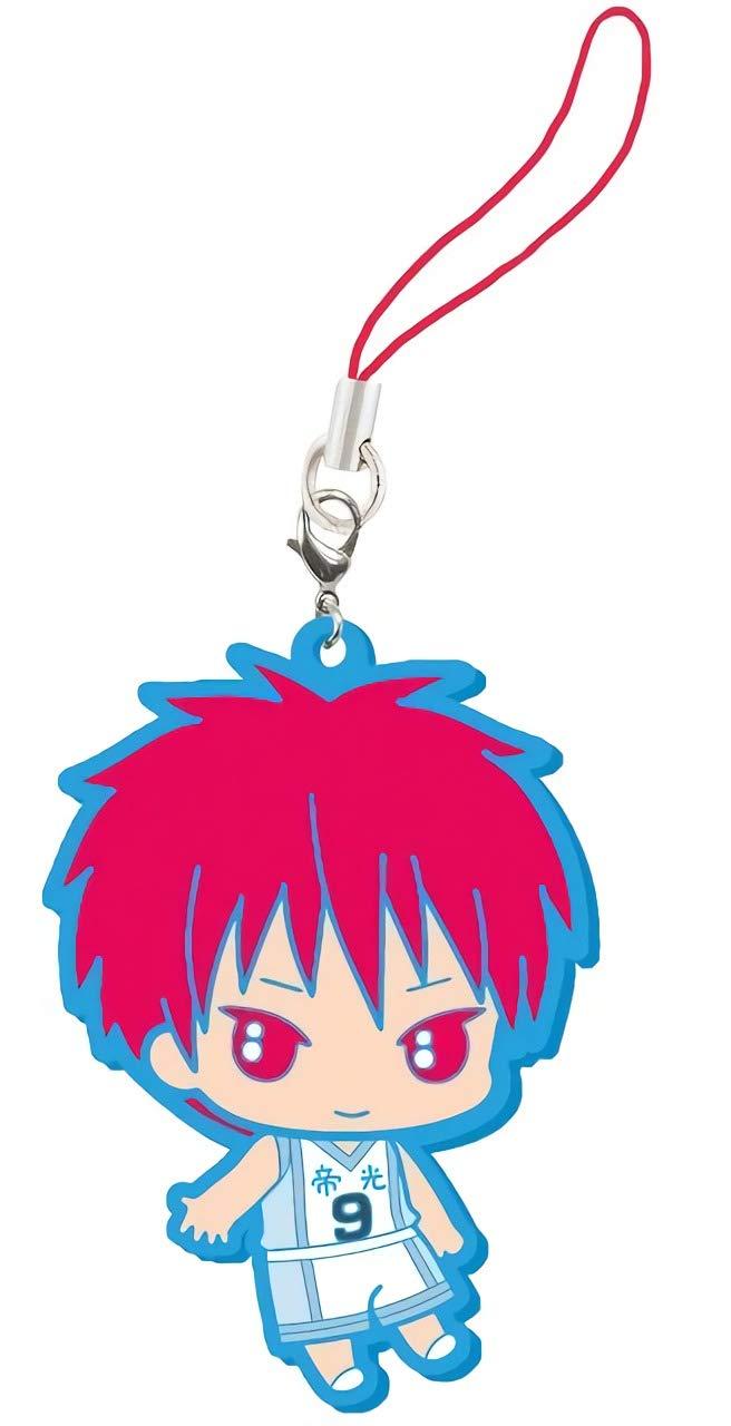 Kurokos Basketball Rubber Mascot EX Akashi Seijuurou Rubber Trading Strap