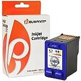 bubprint Cartouche d'ENCRE imprimante compatible avec HP 57 couleur couleur