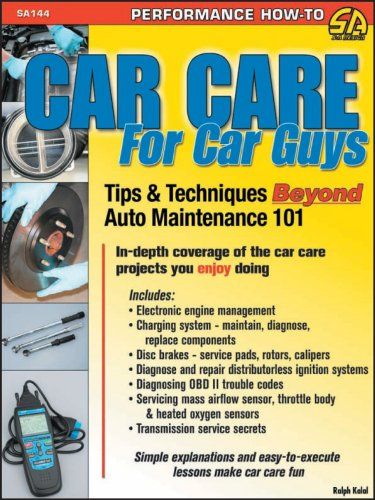 Car Care for Car Guys: Tips & Techniques Beyond Auto Maintenance 101 (Sa Design) (The Best Car Amplifier Brands)