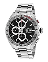 Tag Heuer Caz2010.Ba0876 Men's Formula 1 Automatic Chronograph Stainless Steel Black Dial Watch