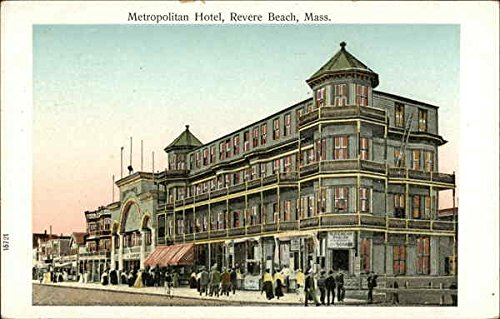 Metropolitan Hotel Revere Beach, Massachusetts Original Vintage Postcard (Revere Hotel compare prices)