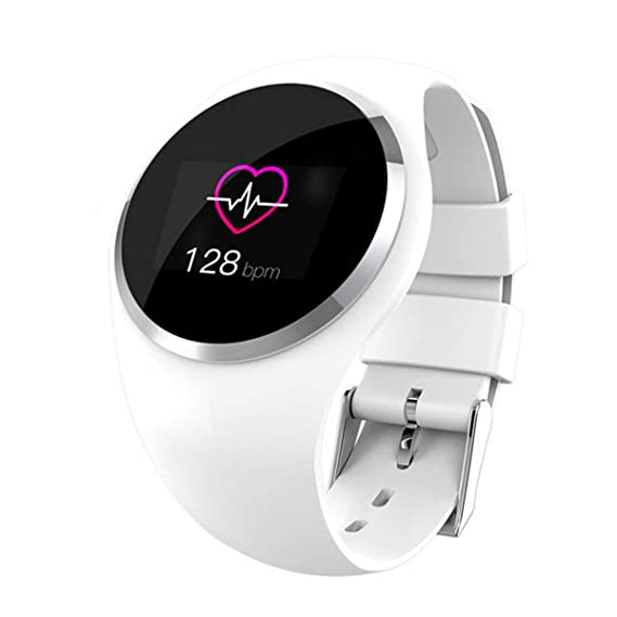 Wireless Lady Smart Watch Monitor de Ritmo cardíaco para ...