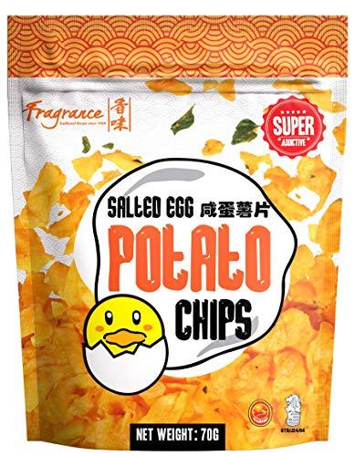 Fragrance Salted Egg Potato Chips