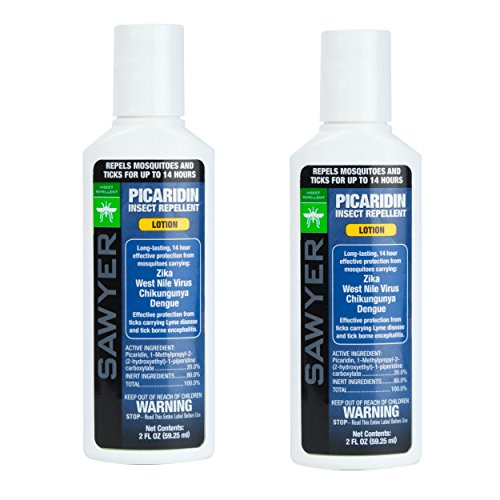 Sawyer Products SP5622 2 oz Twin Pack 20% Picaridin Premium Insect Repellent Lotion