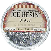 Ranger IRE62196 Ice Resin Opals Scrapbooking & Stamping, Silver