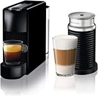 Nespresso C35 Essenza Mini, Siyah Bundle