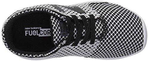M Black white V3 4 Boys' New Loop Coast Us Hook Shoe Balance Toddler Running 14wPS