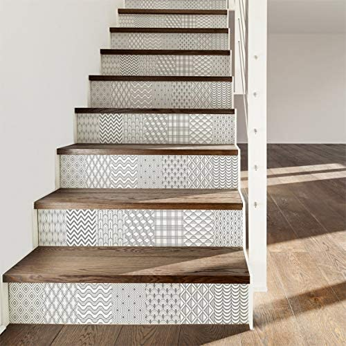 Ambiance-Live Stickers carrelages escaleras: Amazon.es: Hogar