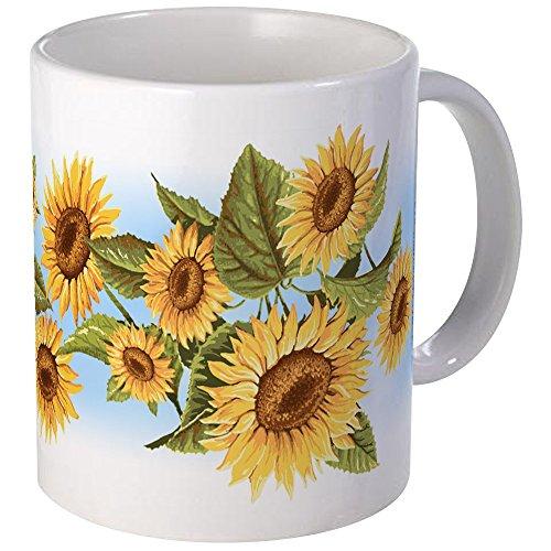 CafePress - Sunflower Mug - Unique Coffee Mug, Coffee Cup