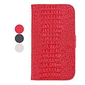 Stand Available Leather Samsung Mobile Phone Cases for Galaxy Note 2/7100(3 Colors) - COLOR#White