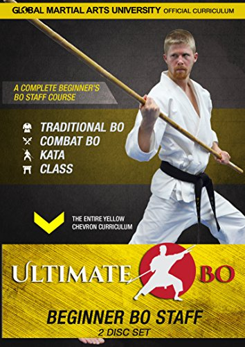 Ultimate Bo: Beginner Bo Staff Training - 2 DVD Set