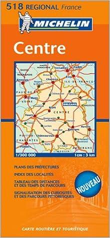 Téléchargements gratuits e book Carte routière : Centre PDF ePub MOBI 2067105752