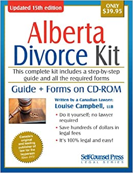 Divorce Kit for Alberta: Guide + Forms on CD-ROM: Louise