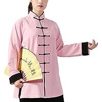 PengGengA Unisex Hebilla Kung Fu Tai Chi Ropa