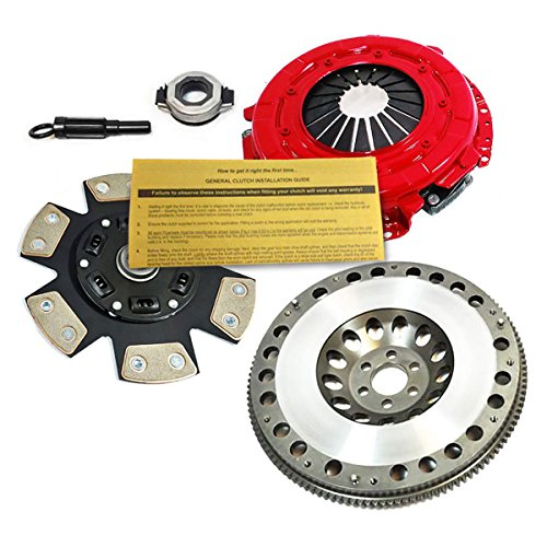 EFT STAGE 3 CLUTCH KIT& FLYWHEEL for 02-06 NISSAN SENTRA ALTIMA 2.5L SPEC V SE-R (Flywheel Spec)