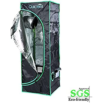 Quictent SGS Approved Eco-friendly 16 x16 x48  Reflective Mylar Hydroponic Grow  sc 1 st  Amazon.com & Amazon.com : Hydro Crunch Hydroponic Grow Tent 16