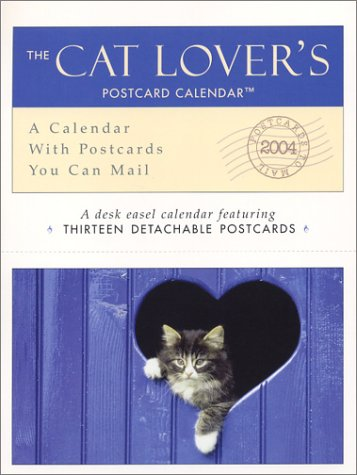The Cat Lovers 2004 Postcard Calendar