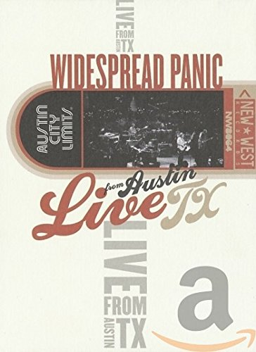 DVD : Widespread Panic - Live From Austin, Tx (Digipack Packaging)