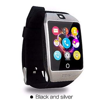 HOYHPK Smart Bluetooth Smart Watch con Cámara Smartwatch Soporte ...