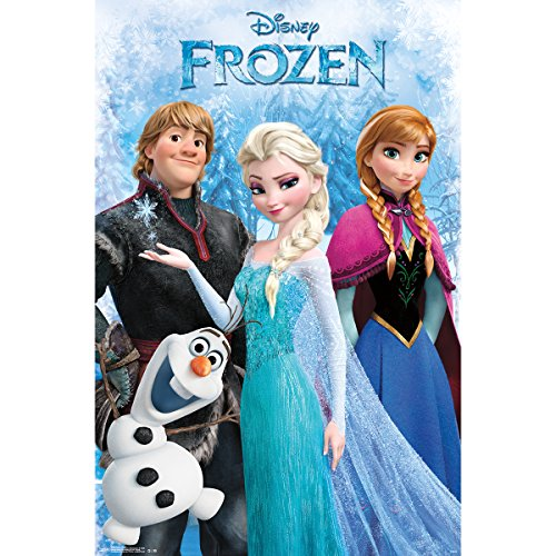 Trends International RP13539 Frozen Group Poster, 22 by 34-I