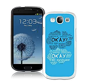 Customized Samsung Galaxy S3 Case Design with The Fault In Our Stars White Case