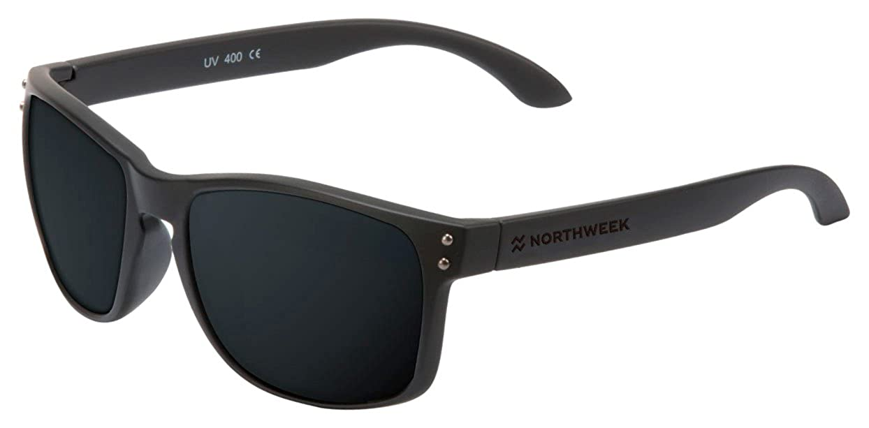 Northweek Bold all black, Gafas de sol Unisex, Negro (Black), 52