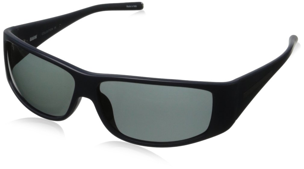 BMW B6508 Foldable Driving Sunwear Sunglasses,Matte Steel66 mm by BMW
